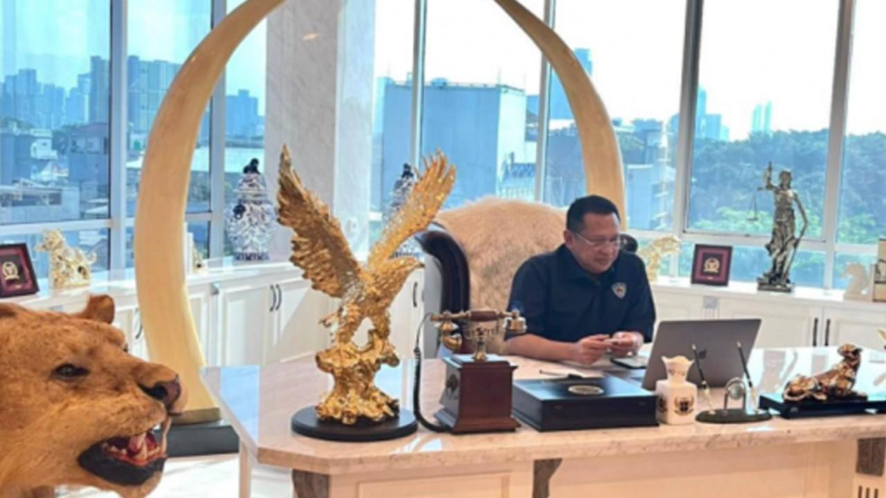 Bambang Soesatyo, Ketua MPR RI, pembangunan sirkuit Mandalika sudah 92 persen.