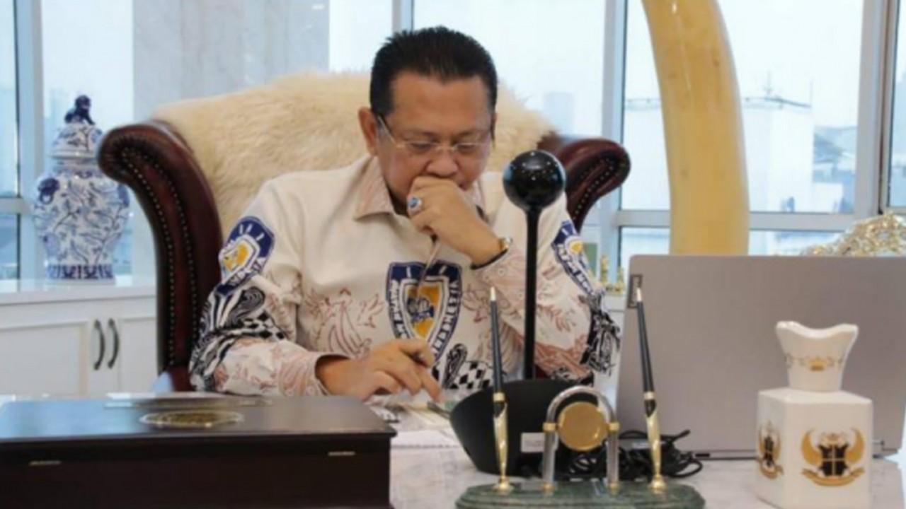 Bambang Soesatyo, Ketua MPR RI.
