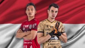 Dua pemain Bali United, Kadek Agung Widnyana Putra dan Nadeo Arga Winata-1632926555