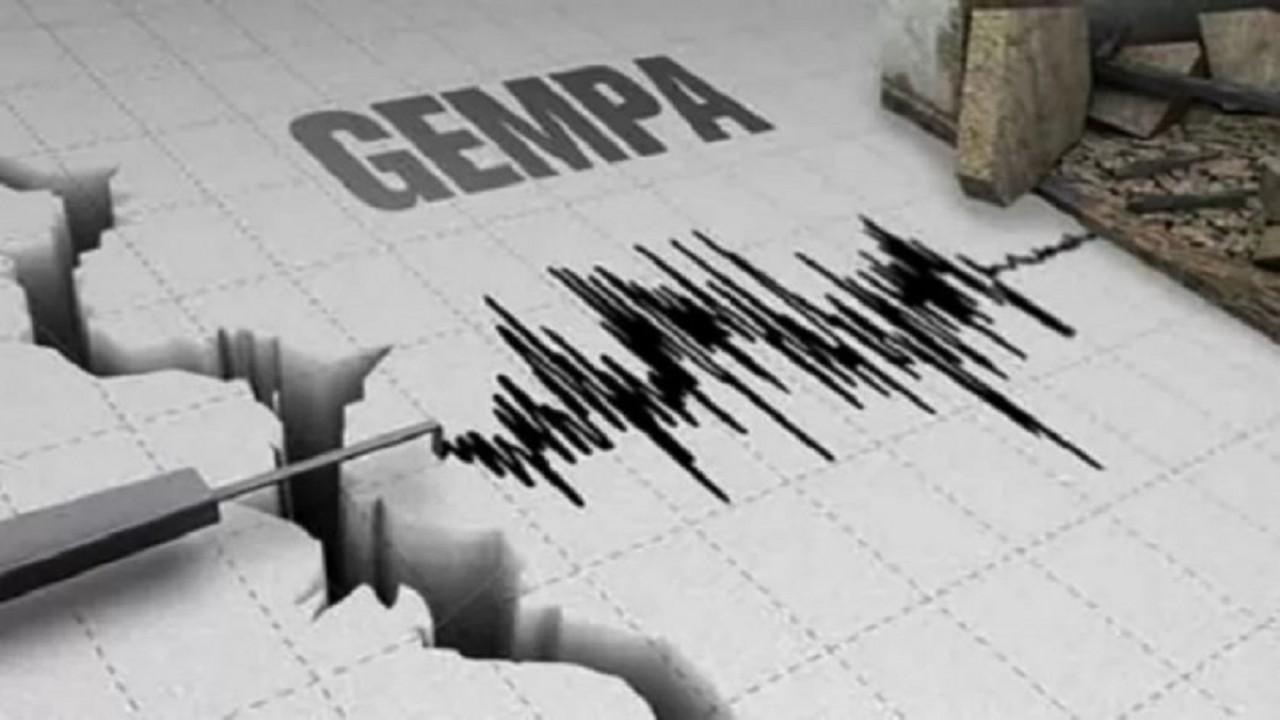 Ilustrasi alat pencatat kekuatan gempa/ist
