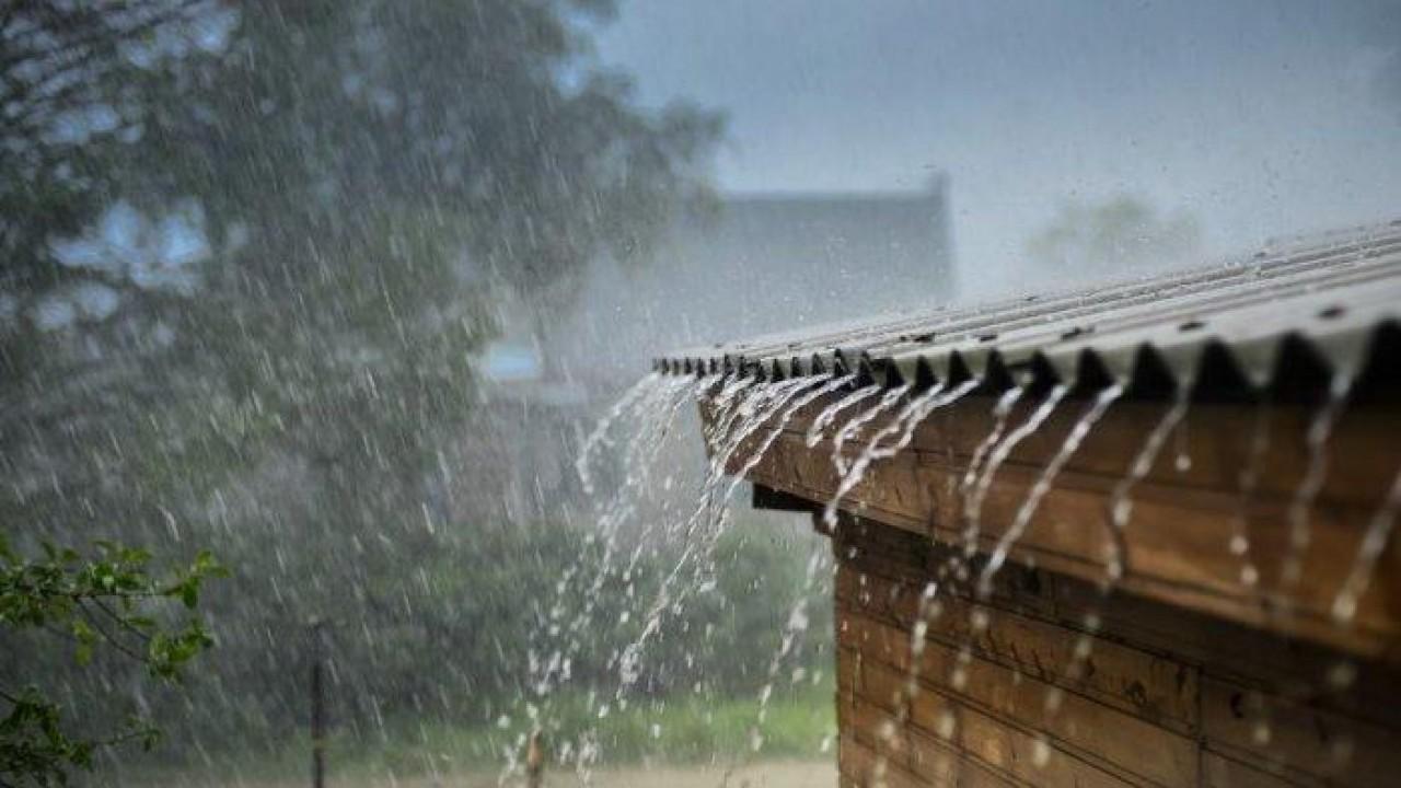 Ilustrasi hujan. (Net)