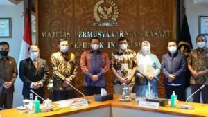 Ketua MPR bersama Badan Pengkajian MPR-1632304335