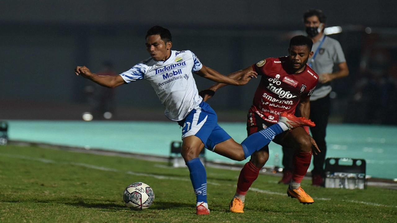 Persib dan Bali United Harus Berbagi Poin