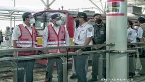 Menhub Tinjau Jalur Layang Stasiun Manggarai-1632661705
