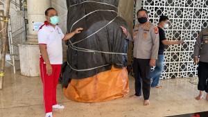 Mimbar Masjid Raya Makassar dibakar OTK-1632560535