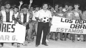 Pablo Escobar mengadakan laga ekshibisi-1631201811
