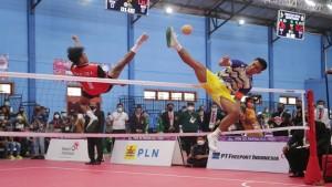 Pertandingan sepak takraw di PON XX Papua-1632931760