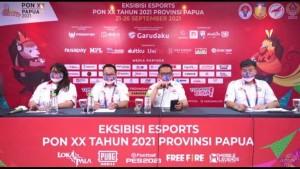 Press conference Eksibisi Esports PON XX Papua 2021-1632215464