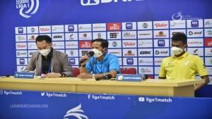 Press Conference usai laga Barito vs Bornoe FC-1631963162