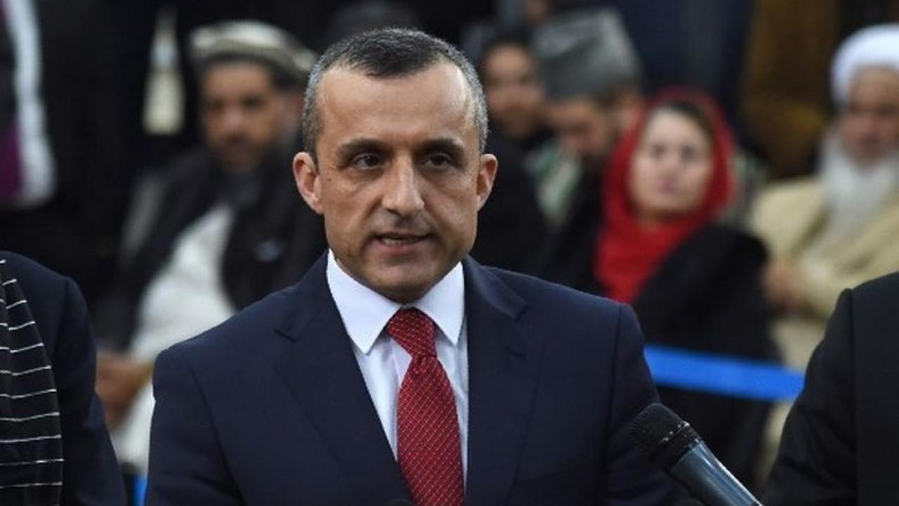 Wapres Afghanistan Amrullah Saleh. (Net)