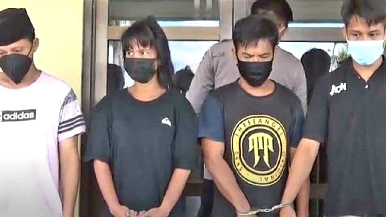 Gadis inisial MAS ditangkap (net)