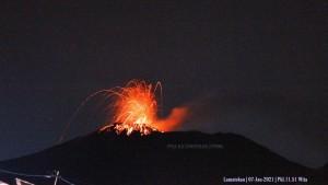 Gunung Ile Lewotolok di NTT kembali erupsi-1633855239