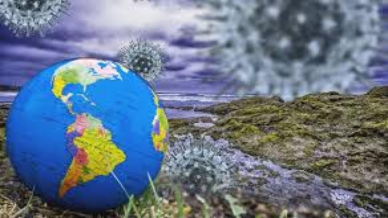 Ilustrasi pandemi covid-19 telah menyebar ke seluruh dunia/ist