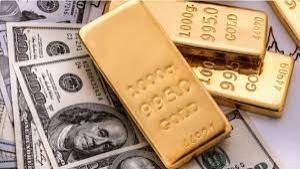 Ilustrasi emas dan dolar AS-1633521577