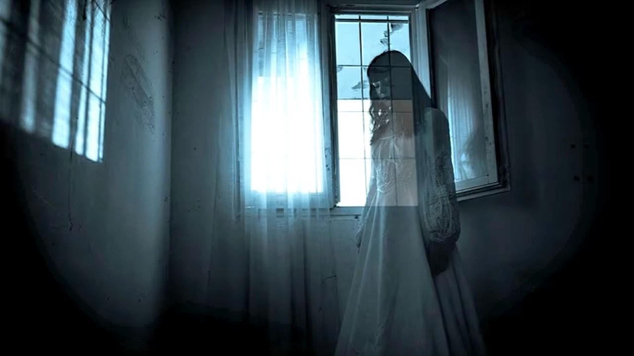 Ilustrasi hantu perempuan di rumah kosong (net)