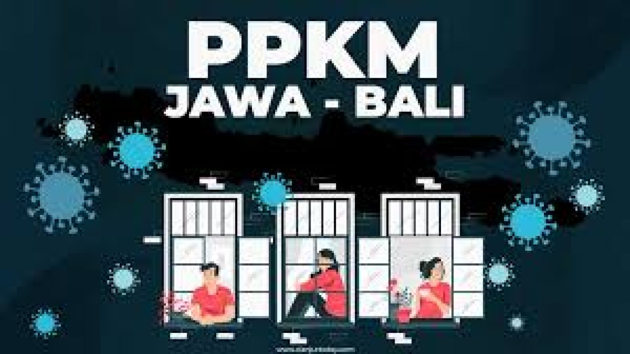 Ilustrasi PPKM di Jawa-Bali/ist