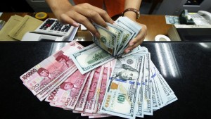 Ilustrasi rupiah dan dolar AS-1633336741