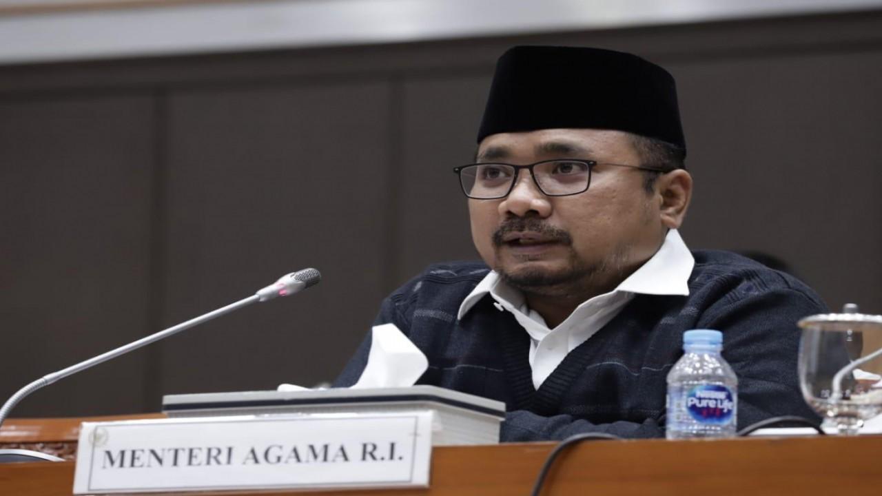 Menteri Agama Yaqut Cholil Qoumas/ist