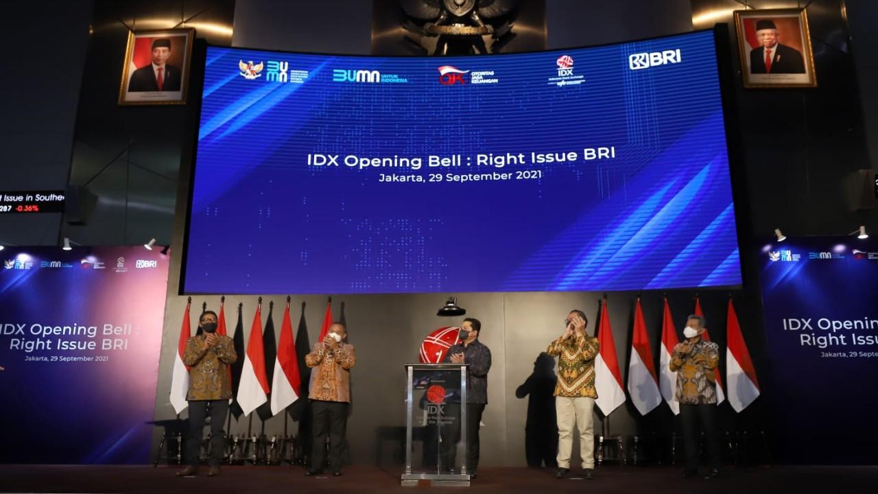 Pertumbuhan berkelanjutan menjadi fokus utama PT Bank Rakyat Indonesia (Persero) Tbk
