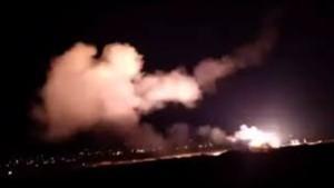 Rudal yang ditembakkan militer Israel meledak di pangkalan udara Suriah-1633770115