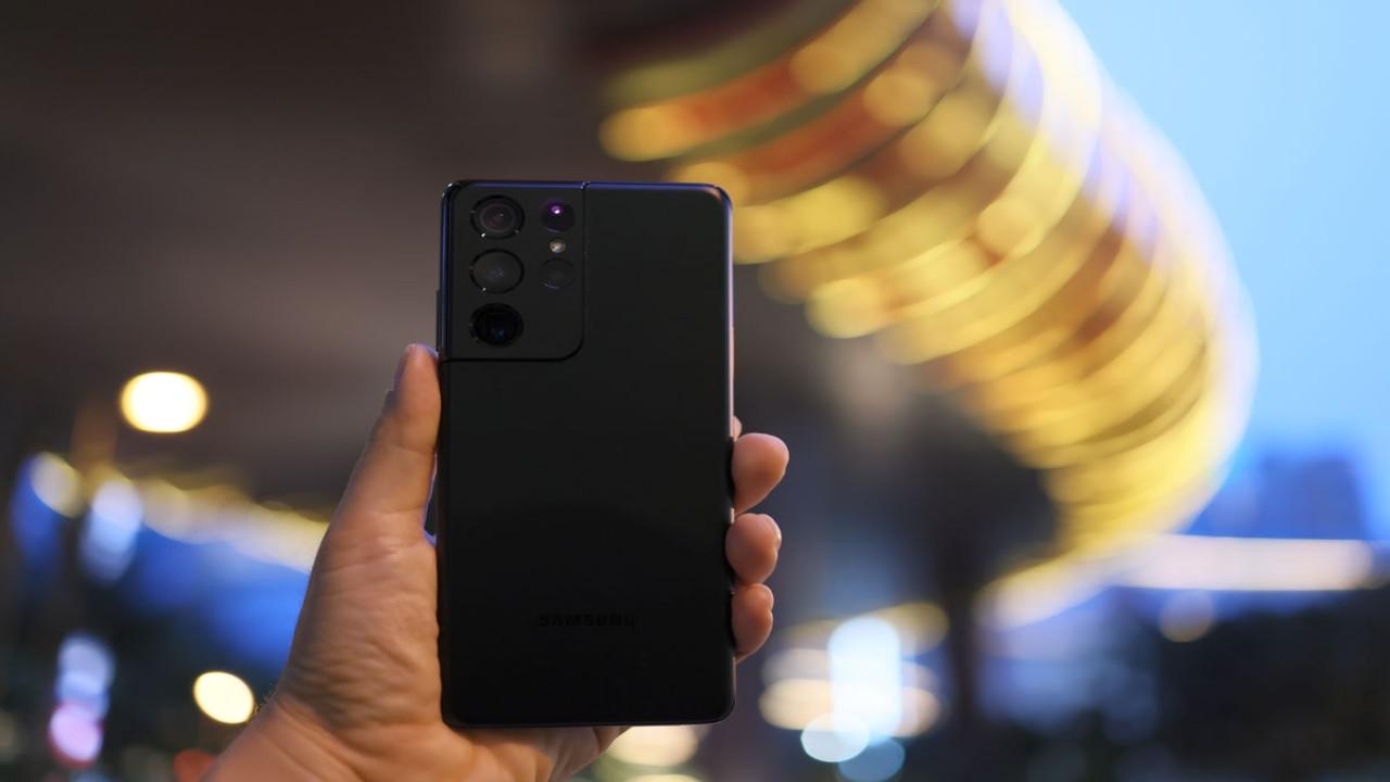 Samsung Galaxy S21 Ultra 5G. (Net)