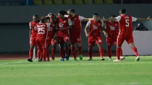 Selebrasi gol skuad Persija / Foto: Bola-1633432836