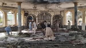 Serangan bom di sebuah masjid di Afghanistan saat salat Jumat-1633698883