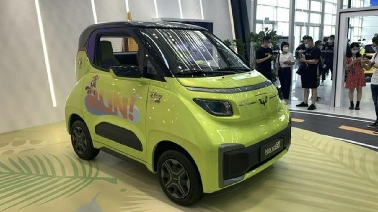 Wuling Hongguang Nano EV. (Drive)